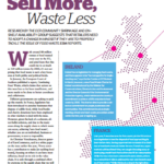 Food waste article