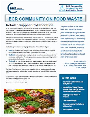 ECR Community on Food Waste